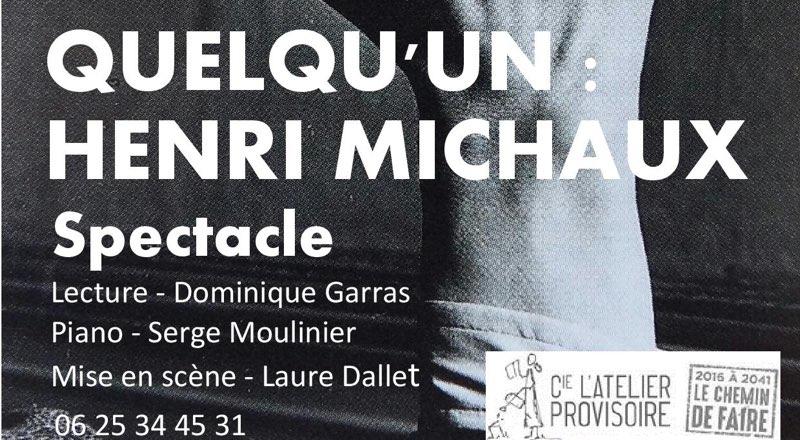 QUELQU'UN : Henri MICHAUX